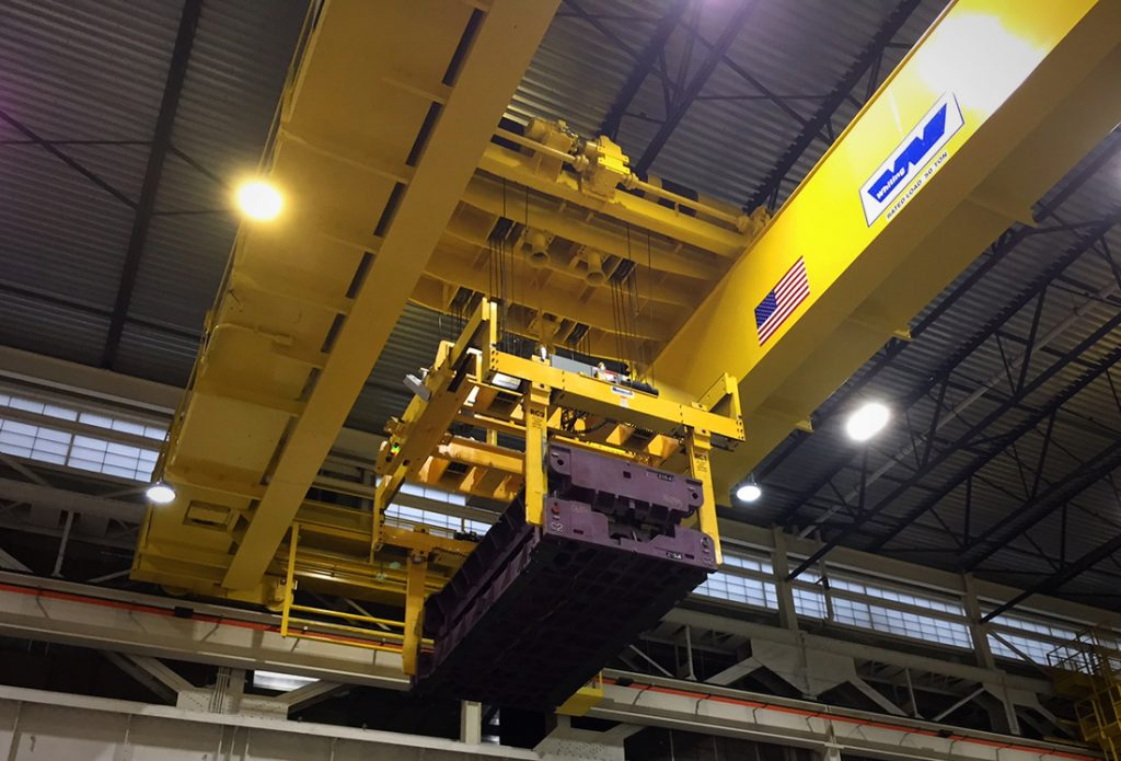 Overhead Crane Safety Points : Heavy duty overhead cranes whiting tiger