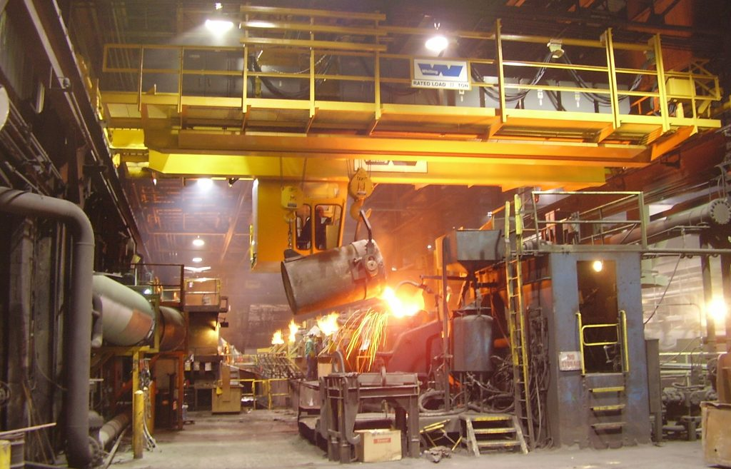 Foundry and Steel Mill
