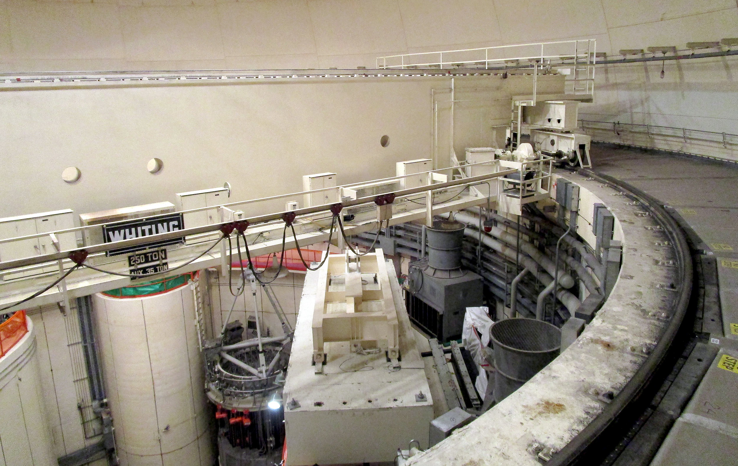 reactor room polar crane