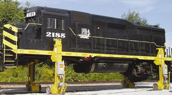 Railcar equipment for rail applications