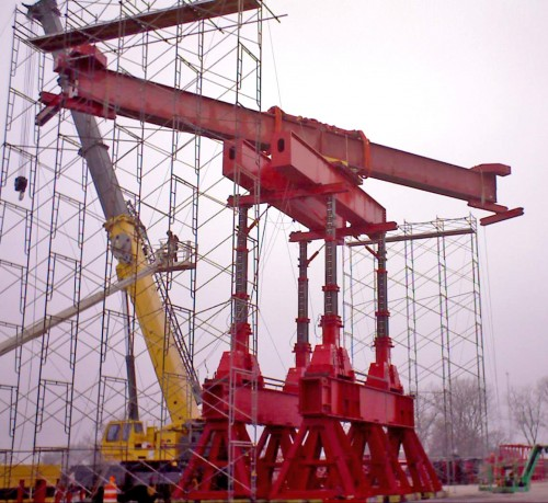 load test for nuclear plant crane