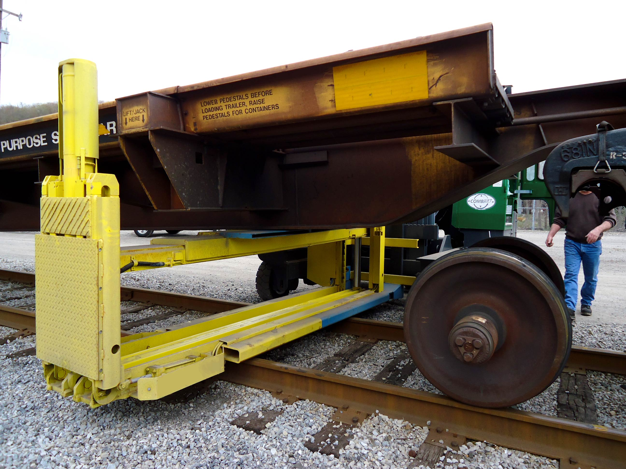 Mac Jack Whiting S Mobile Articulated Car Jack